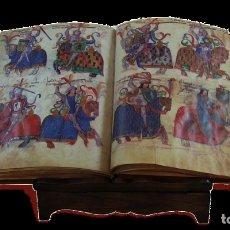 Arte: FACSIMIL LIBRO DE LOS CABALLEROS DE SANTIAGO DE SILOE. Lote 178278707