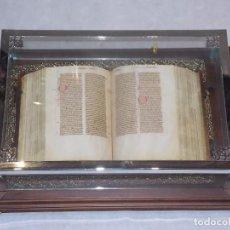 Arte: FACSIMIL BIBLIA DE SAN VICENTE FERRER. Lote 186129005