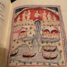 Arte: DE BALNEIS PUTEOLI. C. 1455. FACSIMIL SCRIPTORIUM. EXTRAORDINARIO EJEMPLAR.. Lote 195329943