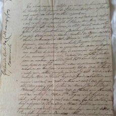 Arte: MANUSCRITO ORIGINAL Y RARO. REGISTRO DE MATRIMONIO, 10 DE MAYO DE 1877.. Lote 199187523
