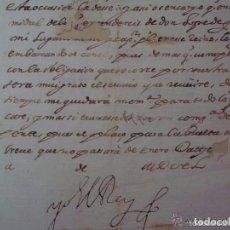 Arte: MANUSCRITO HISTORICO DE LA SUBLEVACIÓN DE LOS CATALANES EN 1640.FIRMADO FELIPE IV. Lote 200797807