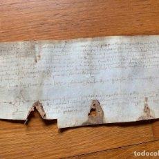 Arte: MUY ANTIGUO PERGAMINO, AÑO 1474, S.XV ANCIENT PARCHMENT , MANUSCRITO, DE PIEL. VER FOTOS ADICIONALES. Lote 201185877