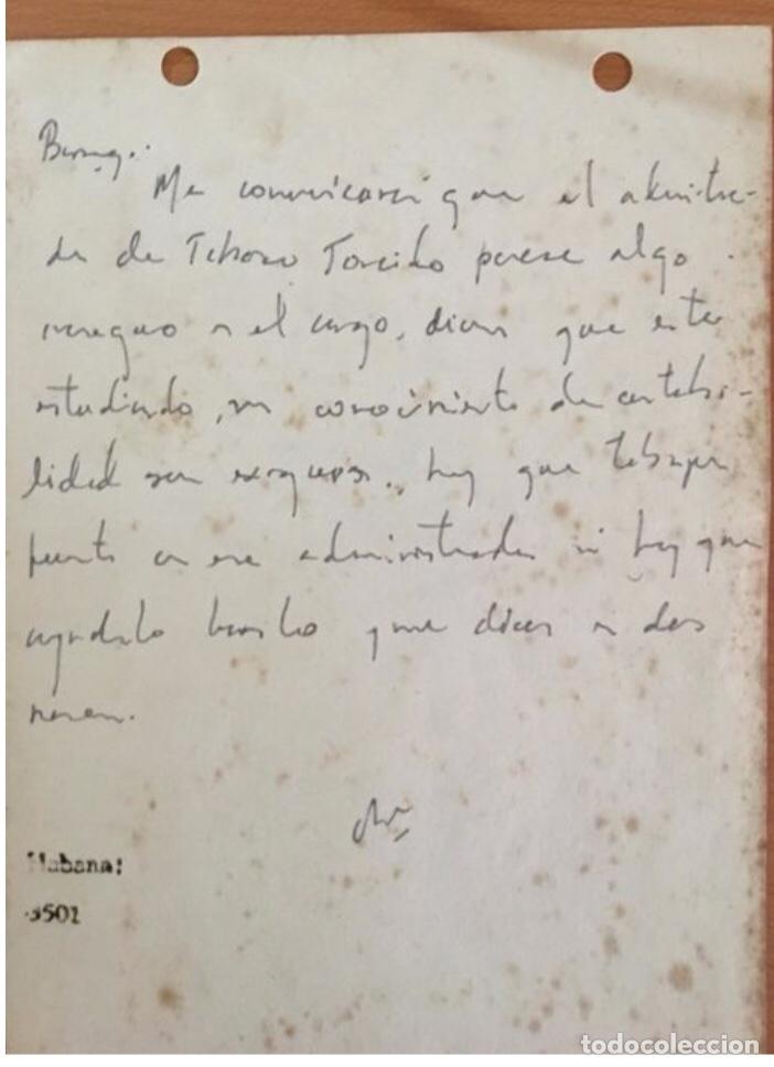 Arte: Manuscrito Ernesto Ché Guevara - Foto 3 - 201305126