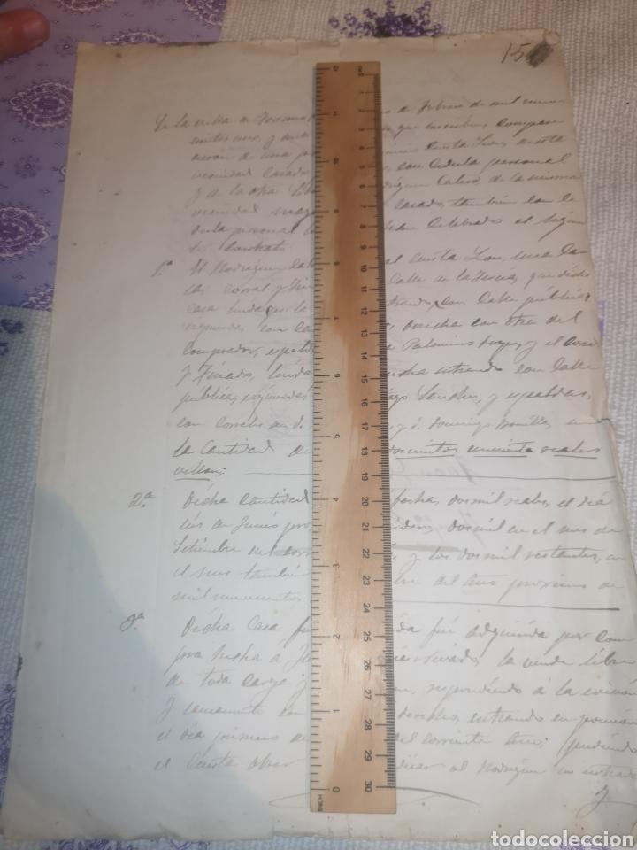 MANUSCRITO ANTIGUO TORREMOCHA CÁCERES. 1901 (Arte - Manuscritos Antiguos)