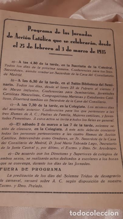 Arte: LOTE DE FOLLETOS. GRANADA 1935. - Foto 2 - 213413338