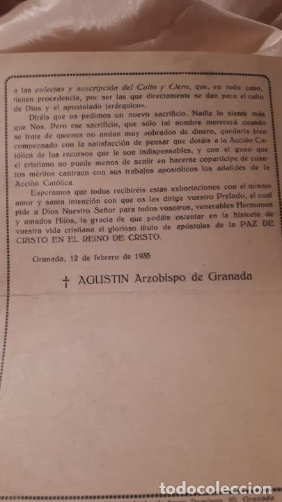 Arte: LOTE DE FOLLETOS. GRANADA 1935. - Foto 5 - 213413338