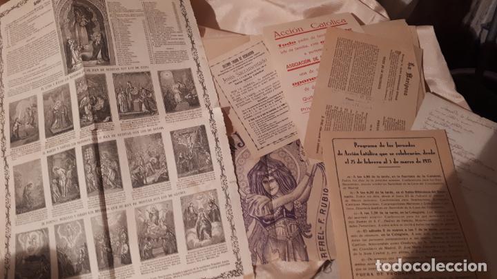LOTE DE FOLLETOS. GRANADA 1935. (Arte - Manuscritos Antiguos)