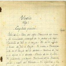 Arte: MANUSCRITO CURSO HISTORIA ECLESIASTICA..1905. TOMO III. 12 PAGINAS. A PLUMA. Lote 214826571