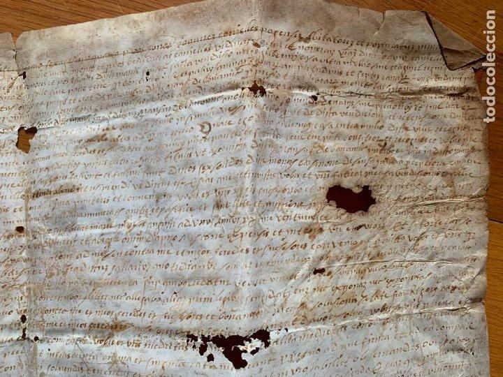 Arte: antiguo pergamino, ancient parchment , de piel, manuscrito. Ver fotos - Foto 5 - 218391528
