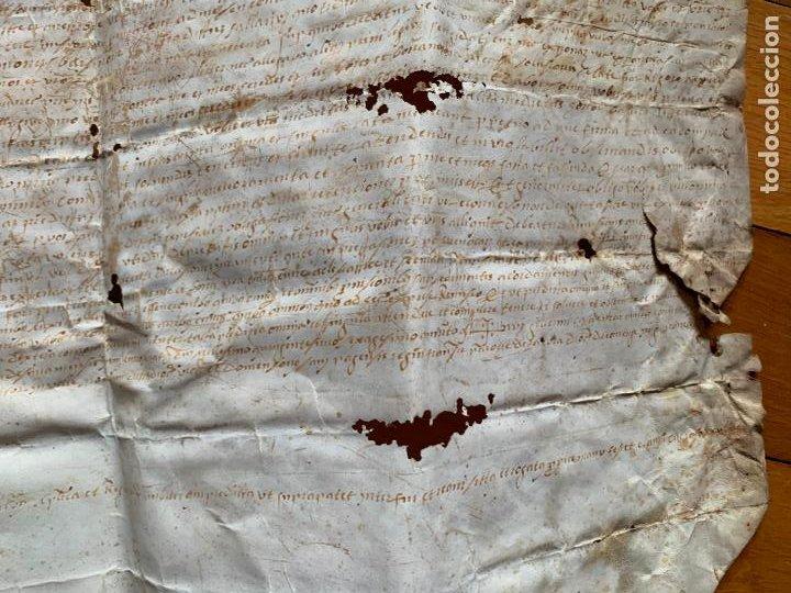 Arte: antiguo pergamino, ancient parchment , de piel, manuscrito. Ver fotos - Foto 6 - 218391528