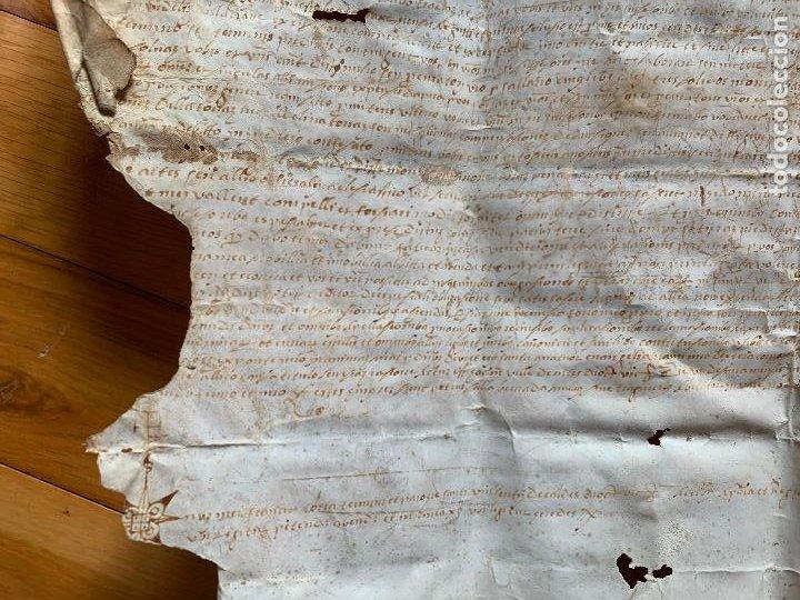 Arte: antiguo pergamino, ancient parchment , de piel, manuscrito. Ver fotos - Foto 7 - 218391528
