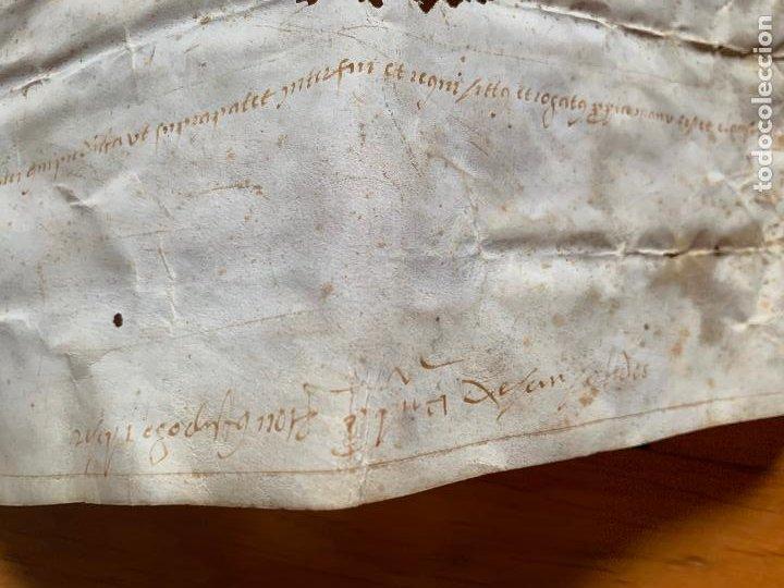 Arte: antiguo pergamino, ancient parchment , de piel, manuscrito. Ver fotos - Foto 8 - 218391528