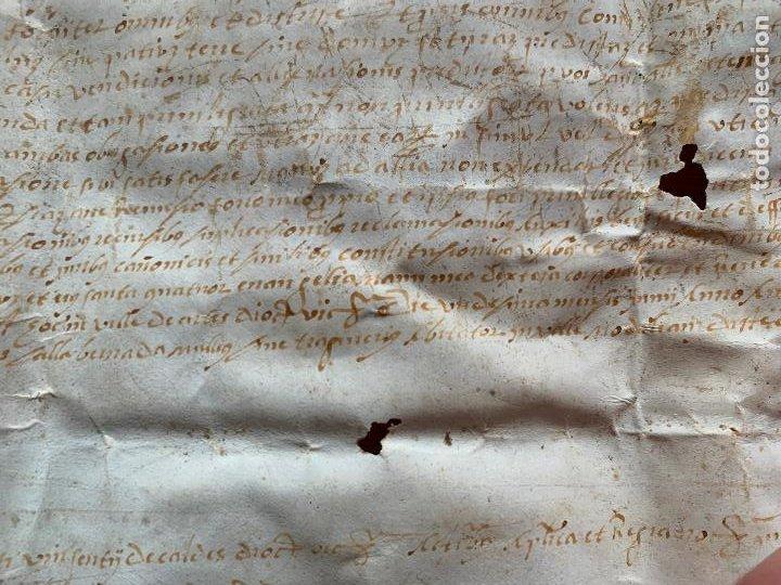 Arte: antiguo pergamino, ancient parchment , de piel, manuscrito. Ver fotos - Foto 9 - 218391528