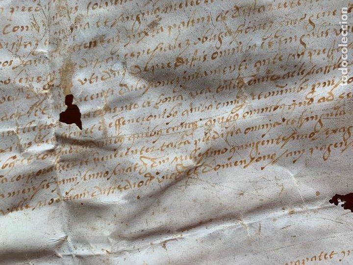 Arte: antiguo pergamino, ancient parchment , de piel, manuscrito. Ver fotos - Foto 10 - 218391528