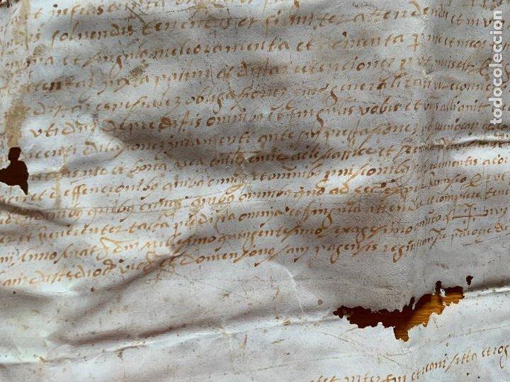 Arte: antiguo pergamino, ancient parchment , de piel, manuscrito. Ver fotos - Foto 11 - 218391528