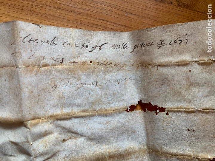 Arte: antiguo pergamino, ancient parchment , de piel, manuscrito. Ver fotos - Foto 13 - 218391528