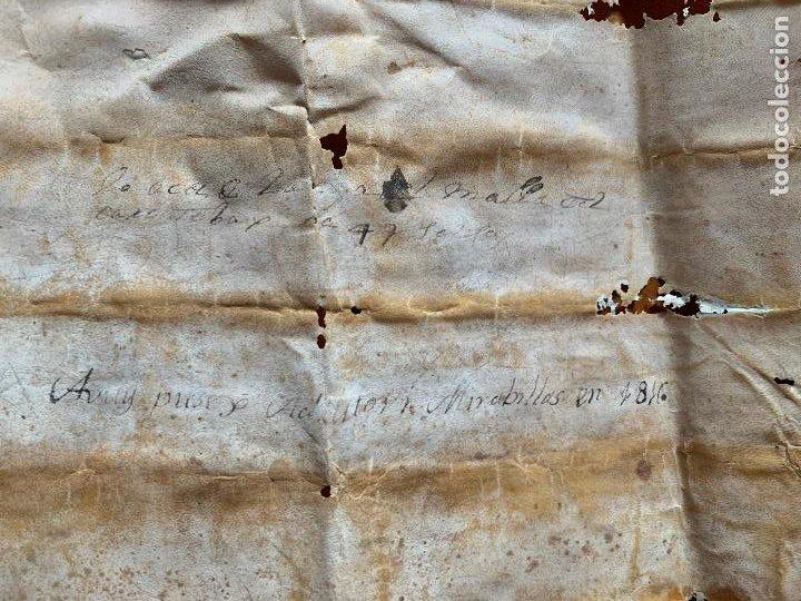 Arte: antiguo pergamino, ancient parchment , de piel, manuscrito. Ver fotos - Foto 14 - 218391528