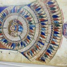 Arte: COLECCIÓN HOJAS DE FACSÍMILES, EDICTOS, ETC. Lote 229925665