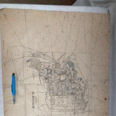 Arte: MUY ANTIGUO MAPA DE JERUSALEM DE 1525!. Lote 243134475