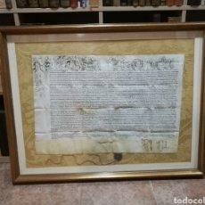 Arte: BULA PAPAL AÑO 1623 1644 PAPA URBANO VIII ZONA SEO URGELL-TREMP. Lote 246533680