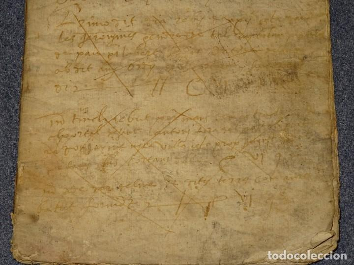 Arte: (M2-5) LIBRO MANUSCRITO DEL AÑO 1612 - LIBRO DE CUENTAS EN CATALAN, 26 PAG,15,5X22CM - Foto 3 - 260866090