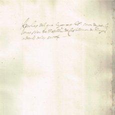 Arte: 1651 MANUSCRITO SOBRE VENTA DEL MAS SOLER DE ROSSELLA, CASTELLNOU DEL BAGES - BELLAS FIRMAS NOTARIOS. Lote 270175353