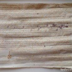 Arte: LIBRERIA GHOTICA. MANUSCRITO MANUSCRITO DEL SIGLO XVII. 1630. FIRMAT CANONGE. MEDIDAS 29 X 25 CM.. Lote 276684523