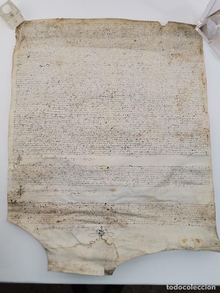MANUSCRITO S.XV O ANTERIOR. (Arte - Manuscritos Antiguos)