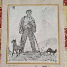 Arte: CENA DE CORDIALIDAD EN HOMENAJE A NICANOR PIÑOLE.1955 AUTÓGRAFO. Lote 280358823