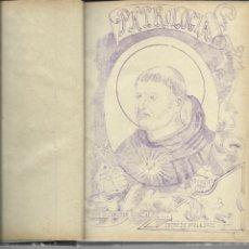 Arte: PATROLOGÍA. LIBRO MANUSCRITO , HACIA 1900.VOLUMEN DE 620 PÁG. Lote 272463338