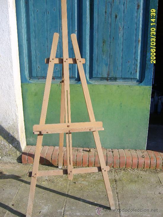Caballete madera comprar material de bellas artes en - Caballetes de madera ...