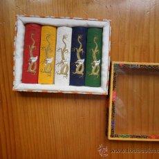 Arte: CAJA CON BARRAS DE PINTURAS CHINAS - AÑOS 60. Lote 24741800