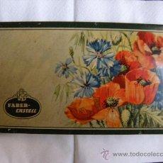 Arte: CAJA ESTUCHE METÁLICA DE LAPICES DE COLOR FABER-CASTELL. Lote 26735181