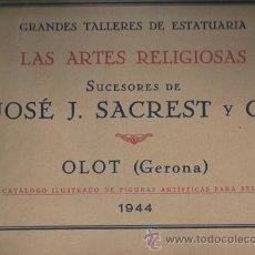 Arte: GRANDES TALLERES DE ESTATUARIA. Lote 26280060