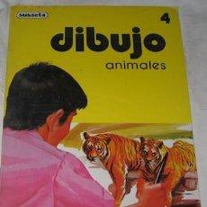 Arte: DIBUJO ANIMALES Nº 4, SUSAETA, DE 1980. Lote 53940788
