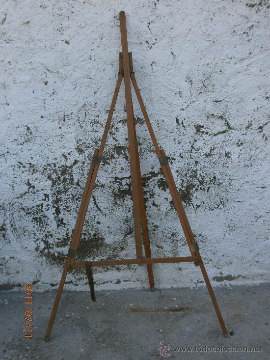 Antiguo tripode de madera para reparar comprar material - Reparar madera ...