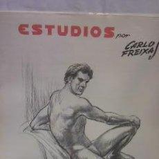 Arte: ESTUDIOS POR CARLOS FREIXAS 1980. Lote 29120411