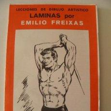 Arte: EMILIO FREIXAS. LÁMINAS DIBUJO ARTÍSTICO, SERIE ROJA 10, CUERPO HUMANO. MESEGUER, BARCELONA. 1964. Lote 148733065