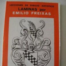 Arte: EMILIO FREIXAS. LÁMINAS DIBUJO ARTÍSTICO, SERIE ROJA 18, ORNAMENTAL 2. MESEGUER, BARCELONA. AÑO 1964. Lote 151068761