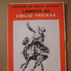 Arte: LECCIONES DE DIBUJO ARTÍSTICO - LAMINAS SERIE 44 - EMILIO FREIXAS. Lote 78224001