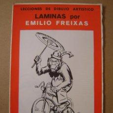 Arte: LECCIONES DE DIBUJO ARTÍSTICO - LAMINAS SERIE 35 - EMILIO FREIXAS. Lote 65028085