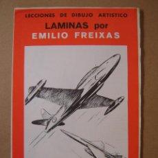 Arte: LECCIONES DE DIBUJO ARTÍSTICO - LAMINAS SERIE 28 - EMILIO FREIXAS. Lote 126848372