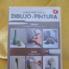 Arte: CURSO PRACTICO DE DIBUJO Y PINTURA Nº 1. Lote 129088550