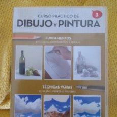 Arte: CURSO PRACTICO DE DIBUJO Y PINTURA Nº 3. Lote 129088636