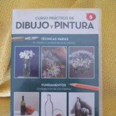 Arte: CURSO PRACTICO DE DIBUJO Y PINTURA Nº5. Lote 129088676