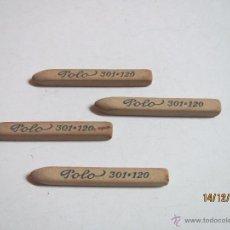Arte: ANTIGUO LOTE DE 4 DIFUMINAS POLO 301:120. Lote 53333623