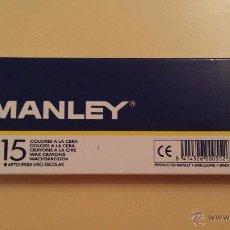 Art: MANLEY 15 COLORES A LA CERA. Lote 145110044