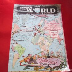 Arte: ANTIGUA REVISTA-USA-AROUND THE WORLD AND THEN SOME-WALTER FOSTER-VER FOTOS.. Lote 55923755