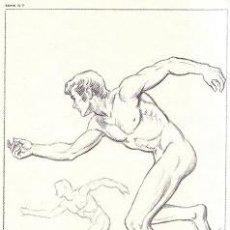 Lecciones de dibujo artístico EMILIO FREIXAS - Figura Humana, Hombre - SERIE IV 7