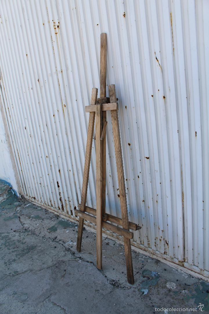 Arte: caballete de pintor en madera - Foto 4 - 58085202